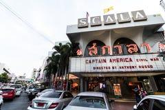 BANGUECOQUE, TAILÂNDIA - 12 DE MAIO DE 2016: Teatro de Scala em Siam Square imagem de stock royalty free
