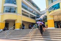 Banguecoque, Tailândia - 2 de março de 2017: Siam Shopping Plaza idoso, Imagens de Stock