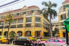 Banguecoque, Tailândia - 2 de março de 2017: Siam Shopping Plaza idoso, Fotos de Stock
