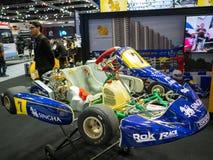 Banguecoque, Tailândia - 30 de novembro de 2018: Carro e acessório na EXPO internacional 2018 do MOTOR da expo 2018 do motor de T fotos de stock