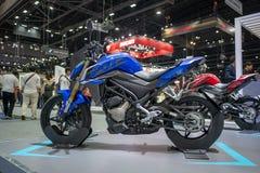 Banguecoque, Tailândia - 30 de novembro de 2018: Distribuidor de CFMOTO na EXPO internacional 2018 do MOTOR da expo 2018 do motor imagens de stock