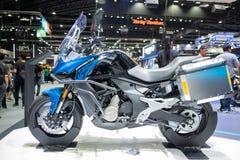Banguecoque, Tailândia - 30 de novembro de 2018: Distribuidor de CFMOTO na EXPO internacional 2018 do MOTOR da expo 2018 do motor foto de stock royalty free