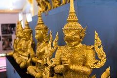 Banguecoque, Tailândia - 4 de novembro de 2017: O crematório real do rei fotos de stock