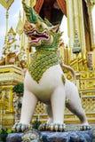 Banguecoque, Tailândia: 29 de novembro de 2017, o crematório real para o HM rei Bhumibol Adulyadej em Sanum Luang foto de stock