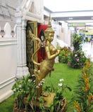 BANGUECOQUE, TAILÂNDIA - 18 DE OUTUBRO DE 2013: interior do aeroporto Don Mueang Foto de Stock