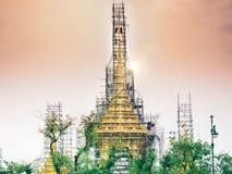 Banguecoque, Tailândia - em setembro de 2017 no luang do sanam: o lado vie Fotos de Stock