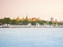 Banguecoque, Tailândia - em setembro de 2017 no luang do sanam: vista de Imagens de Stock Royalty Free