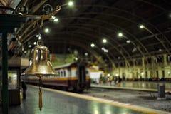 Banguecoque, Tailândia: Estação de caminhos-de-ferro central de junho 17,2018-The, Hua Lum Pong, Banguecoque Tailândia fotos de stock royalty free