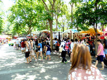Banguecoque-Tailândia: Mercado de JJ, fim de semana Fotografia de Stock