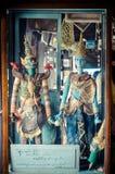 Banguecoque, Tailândia: Mostra de fantoche Fotografia de Stock Royalty Free