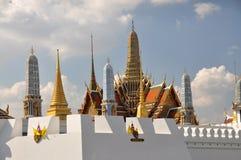 Banguecoque, Tailândia: Palácio grande Wat Phra Kaeo Foto de Stock