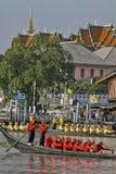 Banguecoque, Tailândia, procissão das barcas reais Fotografia de Stock