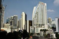 Banguecoque, Tailândia: Skyline da cidade Foto de Stock Royalty Free