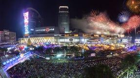 BANGUECOQUE, TAILÂNDIA - 31 DE DEZEMBRO DE 2013: Imagens de Stock
