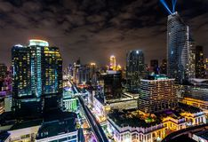 BANGUECOQUE, TAILÂNDIA - 31 DE DEZEMBRO DE 2017: Fotos de Stock