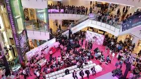 BANGUECOQUE, TAILÂNDIA - 20 DE FEVEREIRO DE 2018: Revele o evento de Fujifilm fotos de stock