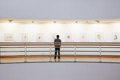 BANGUECOQUE, TAILÂNDIA - 25 de maio: Galeria da arte & de arte do centro da cultura, é a galeria de arte a maior em Banguecoque,  imagem de stock