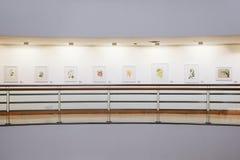 BANGUECOQUE, TAILÂNDIA - 25 de maio: Galeria da arte & de arte do centro da cultura, é a galeria de arte a maior em Banguecoque,  imagens de stock