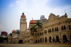Bangunan苏丹阿卜杜勒萨玛德,吉隆坡 免版税库存照片