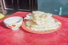 ( Banh Dap) or Dap cake Stock Photo