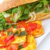 Banh mi tofu Stock Image