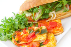 Banh mi tofu Royalty Free Stock Photo
