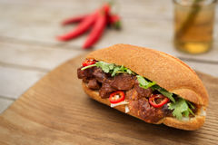 Banh Mi , vietnamese bread. royalty free stock photography