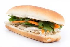Banh mi vietnamese sandwich Stock Image
