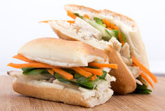 Banh mi vietnamese sandwich Stock Photography