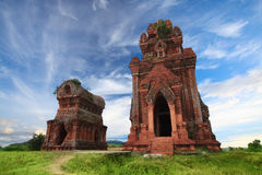 Banh It Towers royalty free stock images