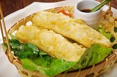 Banh trang. Chinese style .Banh trang - typically used in Vietnamese nem dishes royalty free stock photo