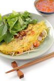 Banh xeo, vietnamese cuisine Stock Photos