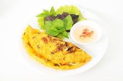 Banh Xeo, Vietnamese pancake Stock Image