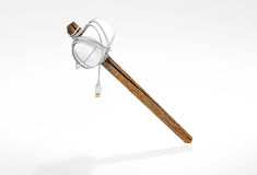 Banhammer - Mouse on a stick Royalty Free Stock Photography