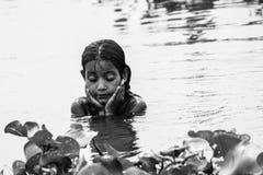 Banhe e rio fotografia de stock