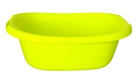 Banheira - amarelo Imagens de Stock