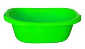 Banheira - verde Fotos de Stock Royalty Free