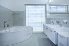 Banheiro Foto de Stock