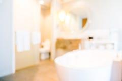Banheiro abstrato do borrão fotografia de stock royalty free