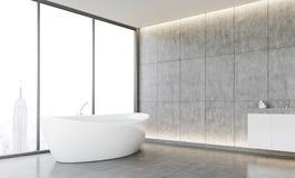 Banheiro acolhedor ilustração stock