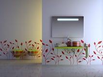 Banheiro agradável Foto de Stock Royalty Free