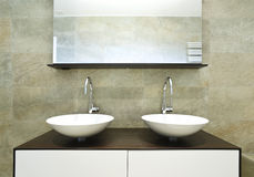 banheiro bonito interior foto de stock royalty free