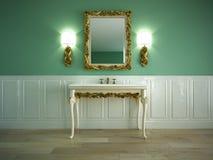 Banheiro clássico Foto de Stock Royalty Free