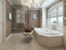Banheiro clássico Fotos de Stock