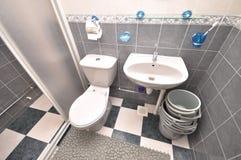 Banheiro comum Foto de Stock Royalty Free