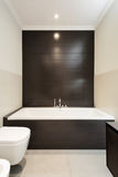 Banheiro confortável imagem de stock royalty free