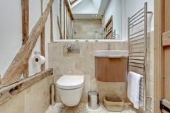 Banheiro da casa de campo Fotografia de Stock Royalty Free
