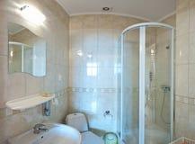 Banheiro das cores Pastel Fotos de Stock Royalty Free
