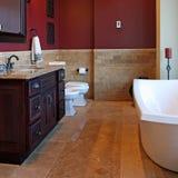 Banheiro de gama alta Fotografia de Stock Royalty Free