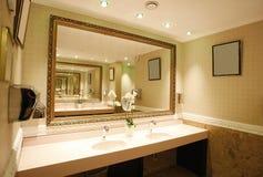 Banheiro de luxe Fotos de Stock Royalty Free